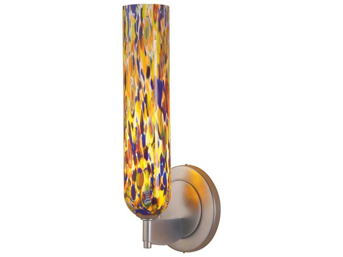 Mosaic Glass Wall Sconces : Bruck Lighting Chianti Mosaic Glass Wall Sconce BK100821