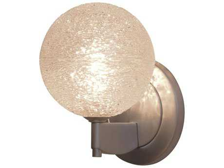 Bruck Lighting Dazzle Clear Glass Wall Sconce