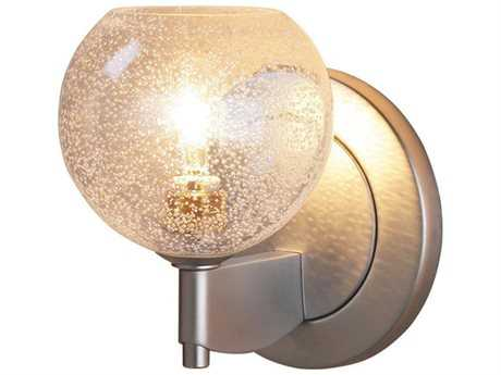Bruck Lighting Bobo Clear Bubble Glass Halogen Wall Sconce
