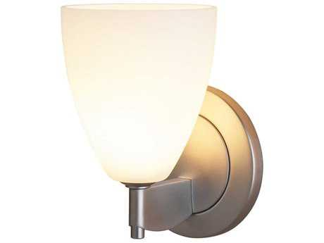 Bruck Lighting Tara Matte White Glass Wall Sconce