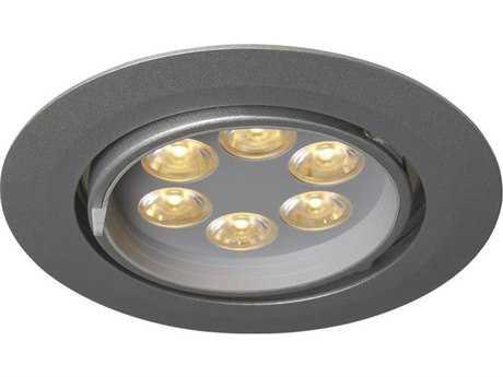 Bruck Lighting Ledra-G6 Matte Chrome 5'' Wide LED Recessed Light