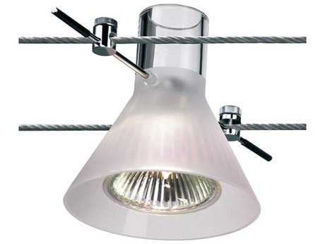 Bruck Lighting High-Line-Fixture White Glass 3'' Wide Spot Light