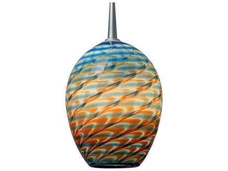 Bruck Lighting Bolero Santa Fe Glass 5'' Wide Halogen Mini Pendant Light