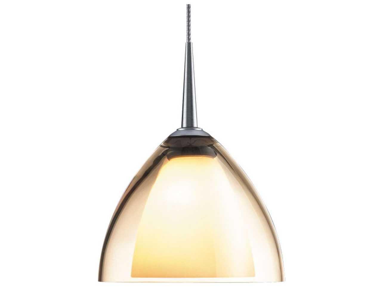 Halogen Mini Pendant Lighting : Bruck lighting rainbow smoky glass wide halogen