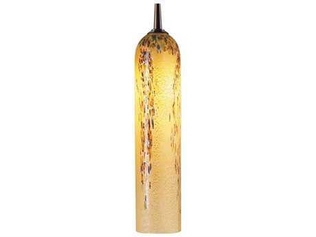 Bruck Lighting Chianti- Vanilla Glass 2'' Wide Halogen Mini Pendant Light