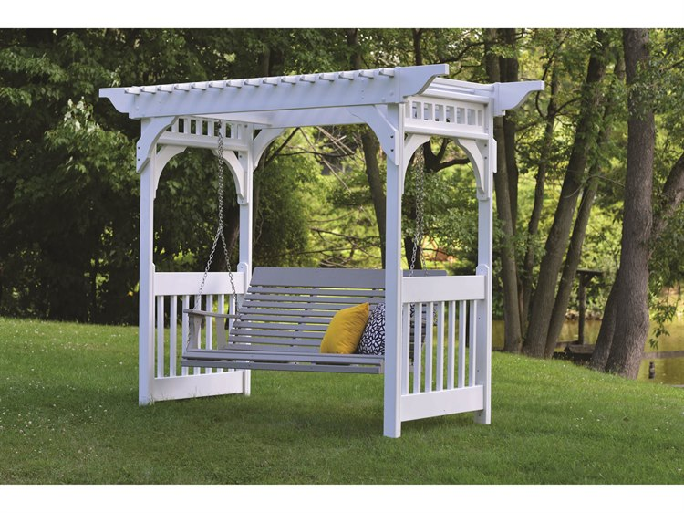 Berlin Gardens Arbors & A-frame Recycled Plastic Lounge Set PatioLiving