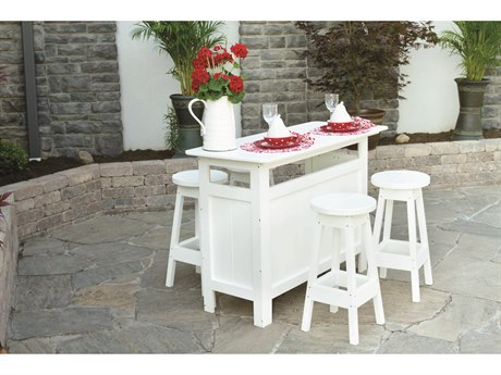 Berlin Gardens Bars & Bar Stools Recycled Plastic Dining Set