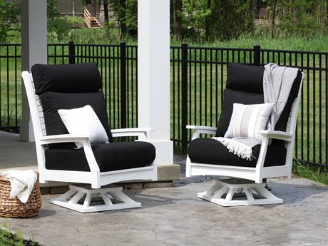 Berlin Gardens Classic Terrace Recycled Plastic Lounge Set PatioLiving