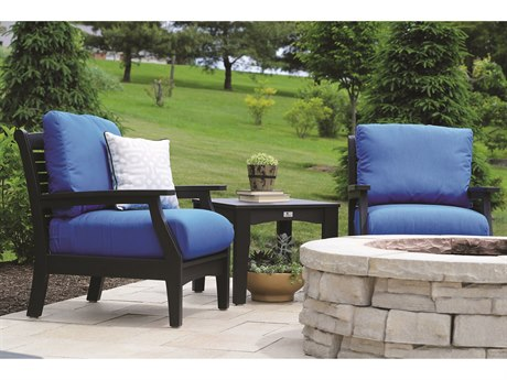 Berlin Gardens Classic Terrace Recycled Plastic Cushion Lounge Set PatioLiving