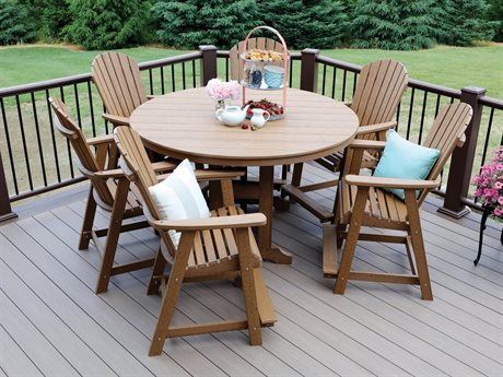 Berlin Gardens Comfo-back Recycled Plastic Dining Set