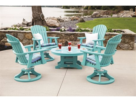 Comfo-back Recycled Plastic Lounge Set