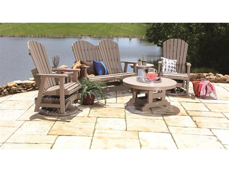Berlin Gardens Comfo-back Recycled Plastic Lounge Set PatioLiving