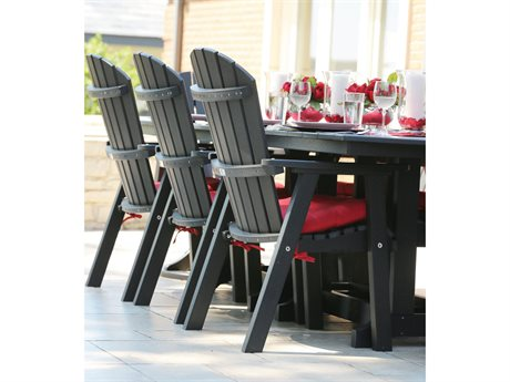 Berlin Gardens Comfo-Back Recycled Plastic Dining Set PatioLiving