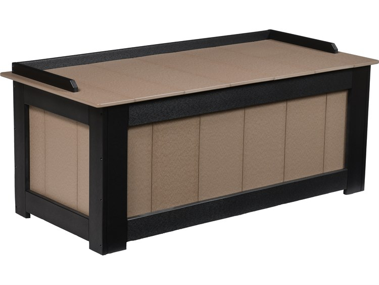 Berlin Gardens Accessories Recycled Plastic 50''W x 24''D Cushion Storage Box PatioLiving