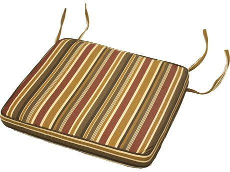 Berlin Gardens Classic Terrace Dining Seat Cushion PatioLiving