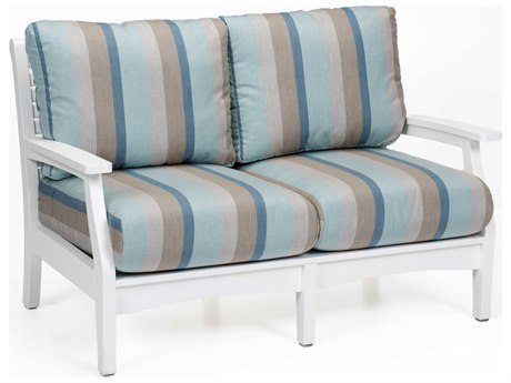 Berlin Gardens Classic Terrace Recycled Plastic Loveseat PatioLiving