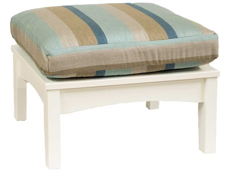 Berlin Gardens Classic Terrace Recycled Plastic Ottoman