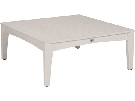Berlin Gardens Classic Terrace Recycled Plastic 44.5''Wide Square Coffee Table PatioLiving