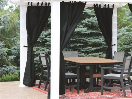 Berlin Gardens Curtain for Bradford Pergola
