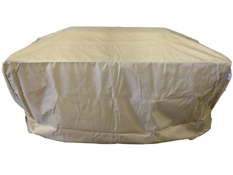 Berlin Gardens Donoma 42'' x 54'' Rectangular Fire Pit/Table Cover PatioLiving