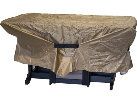 Berlin Gardens Donoma Accessories 72'' x 44'' Rectangular Fire Table Cover PatioLiving