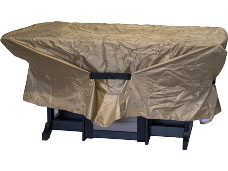 Berlin Gardens Donoma Accessories 96'' x 44'' Rectangular Fire Table Cover PatioLiving