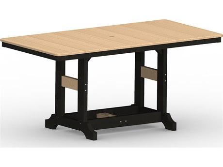 Berlin Gardens Garden Classic Recycled Plastic 66''W x 33''D Rectangular Counter Height Table