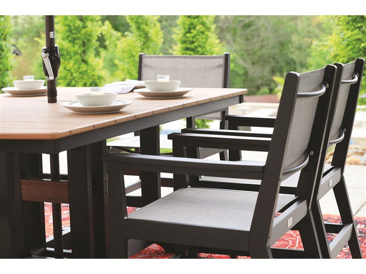Berlin Gardens Manhew Recycled Plastic Dining Set PatioLiving
