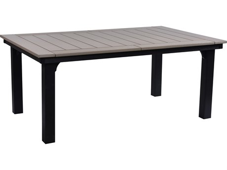 Berlin Gardens Garden Classic Recycled Plastic 72''W x 44''D Rectangular Dining Height Table