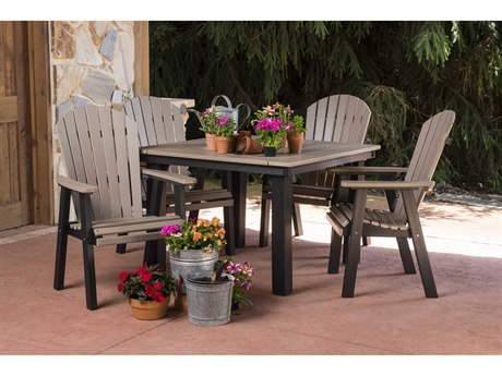 Berlin Gardens Homestead Recycled Plastic Dining Set PatioLiving