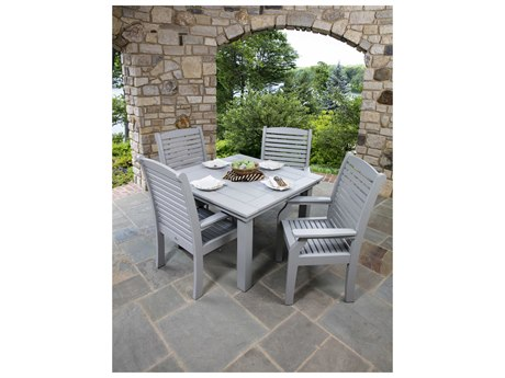 Berlin Gardens Homestead Recycled Plastic Dining Set