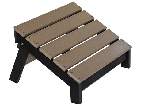 Berlin Gardens Accessories Recycled Plastic Mayhew Folding Footstool PatioLiving