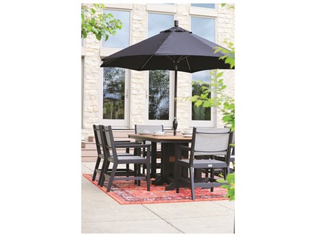 Berlin Gardens Mayhew Recycled Plastic Dining Set
