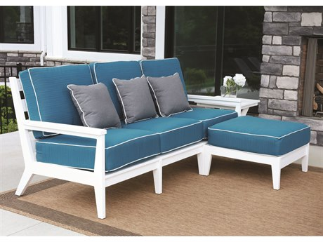 Berlin Gardens Mayhew Recycled Plastic Cushion Lounge Set BLGMAYHWLNGSET1