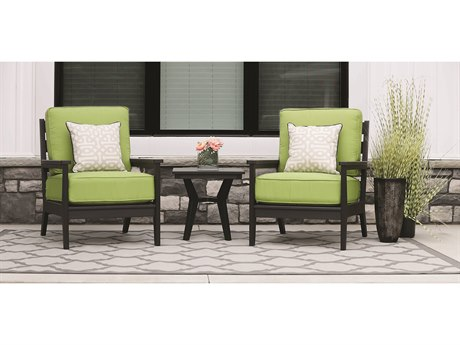 Berlin Gardens Mayhew Recycled Plastic Cushion Lounge Set BLGMAYHWLNGSET2