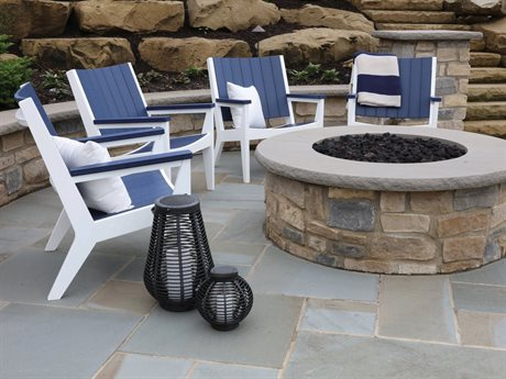 Berlin Gardens Mayhew Recycled Plastic Lounge Set PatioLiving