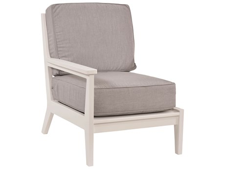 Berlin Gardens Mayhew Recycled Plastic Right Arm Lounge Chair PatioLiving