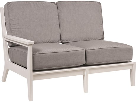 Berlin Gardens Mayhew Recycled Plastic Right Arm Loveseat PatioLiving