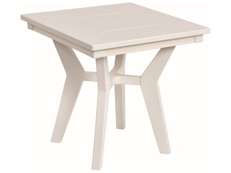 Berlin Gardens Mayhew Recycled Plastic 20''Wide Square End Table