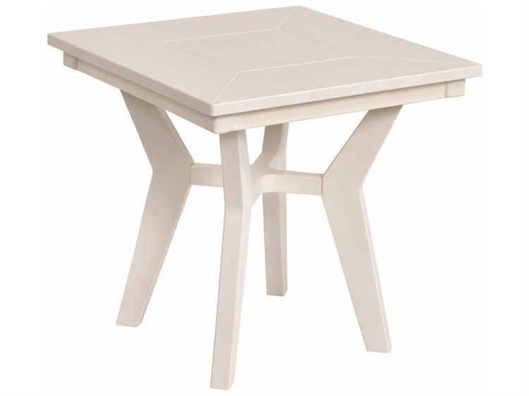Berlin Gardens Mayhew Recycled Plastic 20''Wide Square End Table PatioLiving