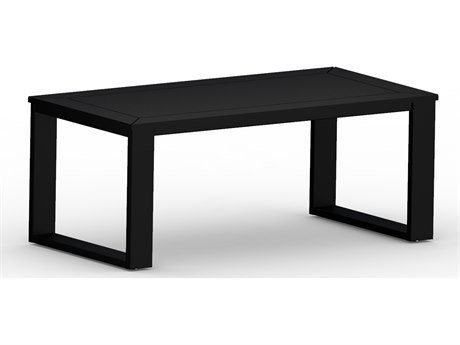 Berlin Gardens Nordic Recycled Plastic 47''W x 24''D Rectangular Coffee Table PatioLiving