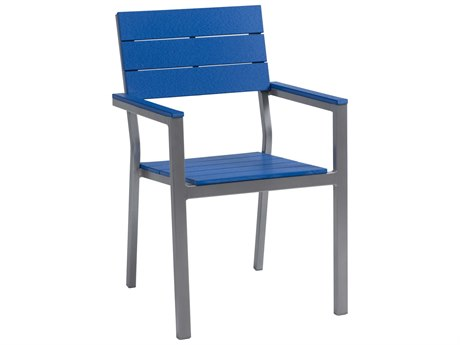 Berlin Gardens Pax Poly Aluminum Dining Arm Chair PatioLiving