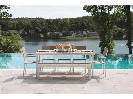 Berlin Gardens Pax Aluminum Dining Set PatioLiving