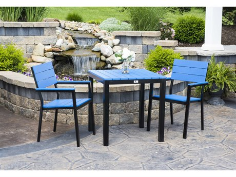 Berlin Gardens Pax Recycled Plastic Dining Set