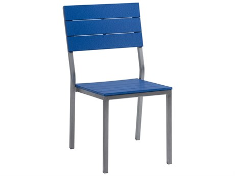 Berlin Gardens Pax Poly Aluminum Dining Side Chair PatioLiving