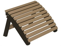 Berlin Gardens Accessories Recycled Plastic Folding Adirondack Footstool