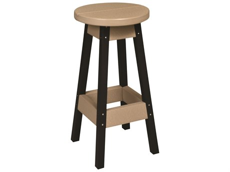 Berlin Gardens Recycled Plastic Outdoor Bar Stool