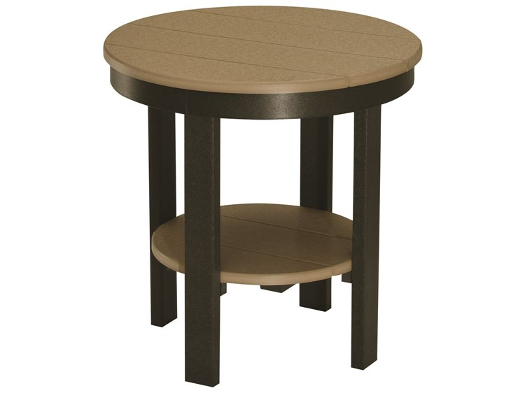 Berlin Gardens Accessories Recycled 22''Wide Round End Table PatioLiving