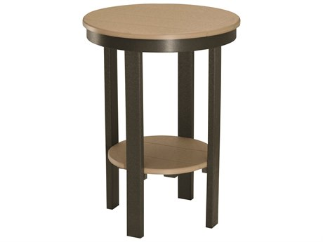 Berlin Gardens Accessories Recycled 22''Wide Round Counter Table PatioLiving