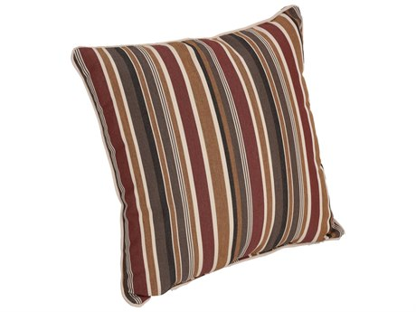 "Berlin Gardens 17"" x 17"" Throw Pillow with Cording PatioLiving"